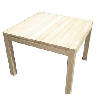 Table de repas Hévéa extensible 100/200x100x76cm OLGA