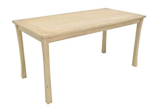 Table de repas Hévéa 150x75x73cm MAORI