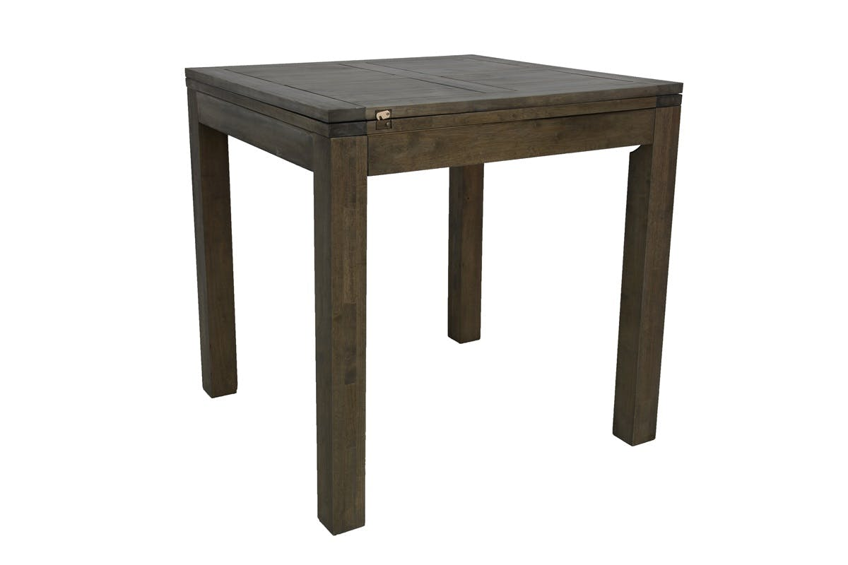 Table de bar Hévéa extensible 90/180x90x92cm ATTAN