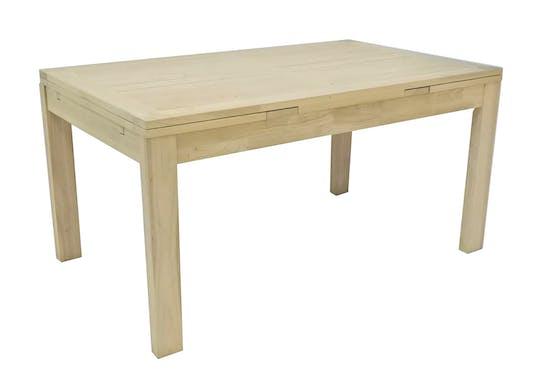 Table de repas Hévéa extensible 150/230x90x76cm OLGA