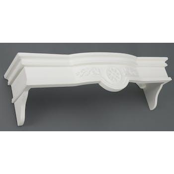 Ciel de lit Classique Chic AGATHE L 90 X P 25 X H 25 Blanc Antique AMADEUS