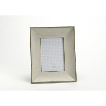 Cadre photo avec moulure effet bois 24X29cm