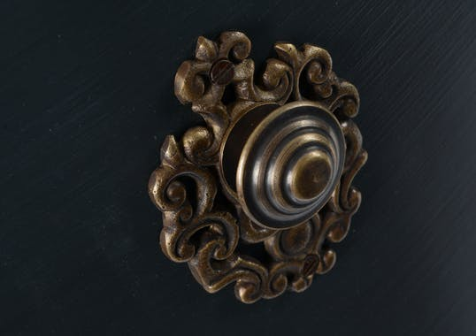 Console Drapier Baroque CELESTINE ARDOISE double plateaux bois naturel 130x40x80cm AMADEUS
