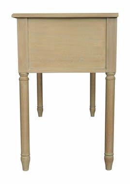 Bureau bois massif 5 tiroirs HAMBOURG ref. 30020701