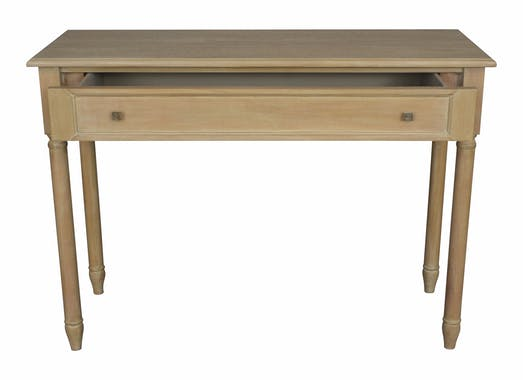 Console bois massif 1 tiroir HAMBOURG ref. 30020702