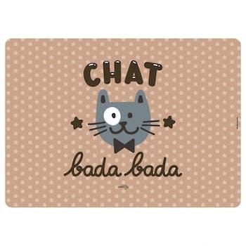CHAT BADA BADA Tapis Chat Kiki DLP