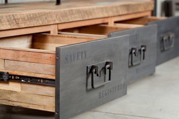 Buffet industriel 2 portes CARAVELLE