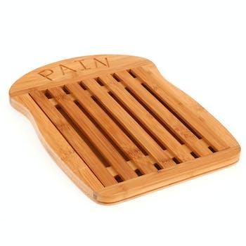 Planche à pain en bambou 34,5x26cm