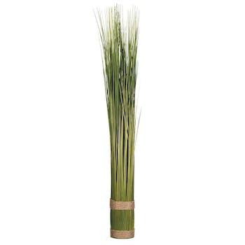 Fagot de grandes herbes vertes cerclé par cordelettes H79xD8cm