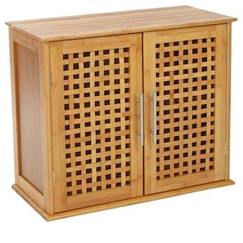 Meuble sdb bambou réf. 20061361