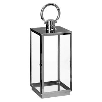 Lanterne inox verre moyen modèle réf. 20064240