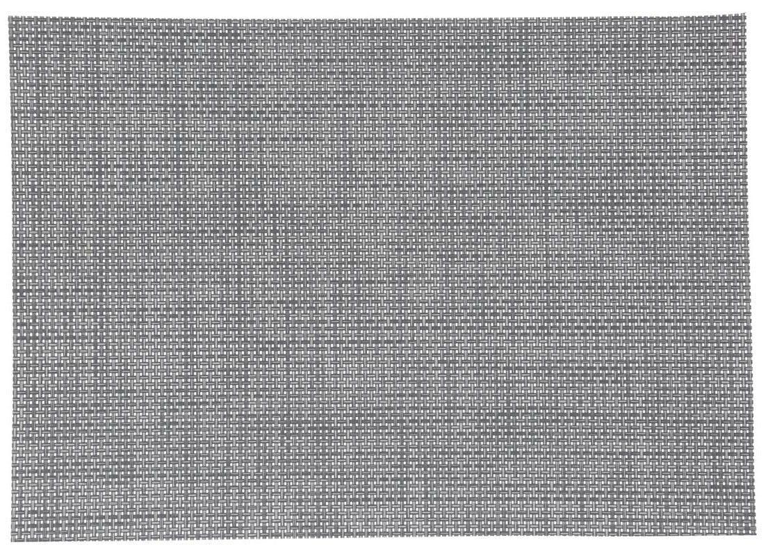 Set de table texaline rectangle 50 x 35,5 cm Gris