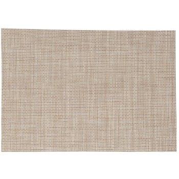 Set de table texaline rectangle 50 x 35,5 cm Nature
