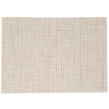 Set de table texaline rectangle 50 x 35,5 cm Beige