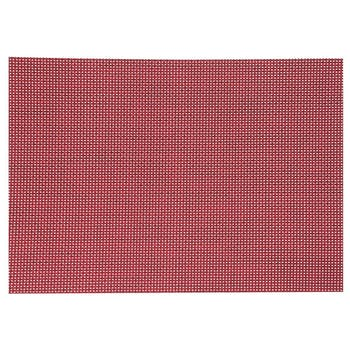Set de table texaline rectangle 50 x 35,5 cm Rouge