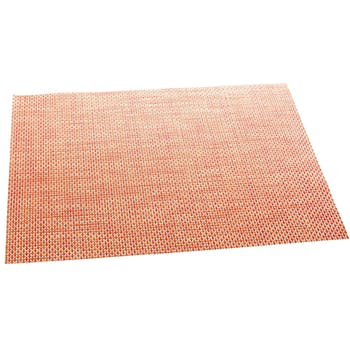 Set de table texaline rectangle 50 x 35,5 cm Orange