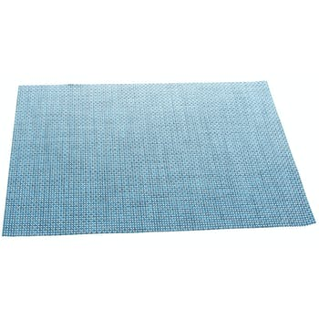 Set de table texaline rectangle 50 x 35,5 cm Bleu