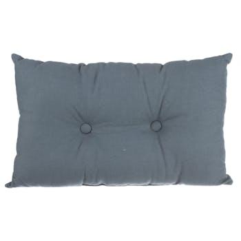 Coussin rectangle en coton 30 x 50 cm Orage