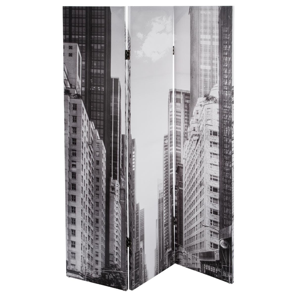 Paravent décor City motifs Building 120x180cm
