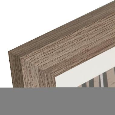 Cadre Pêle-Mêle 3 vues en bois naturel 29,4x56,4cm