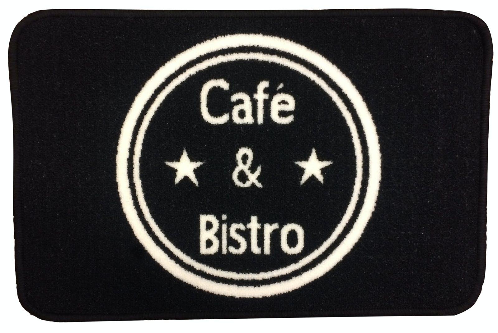 """Tapis de cuisine """"Café & Bistro"""" 50x80cm"""