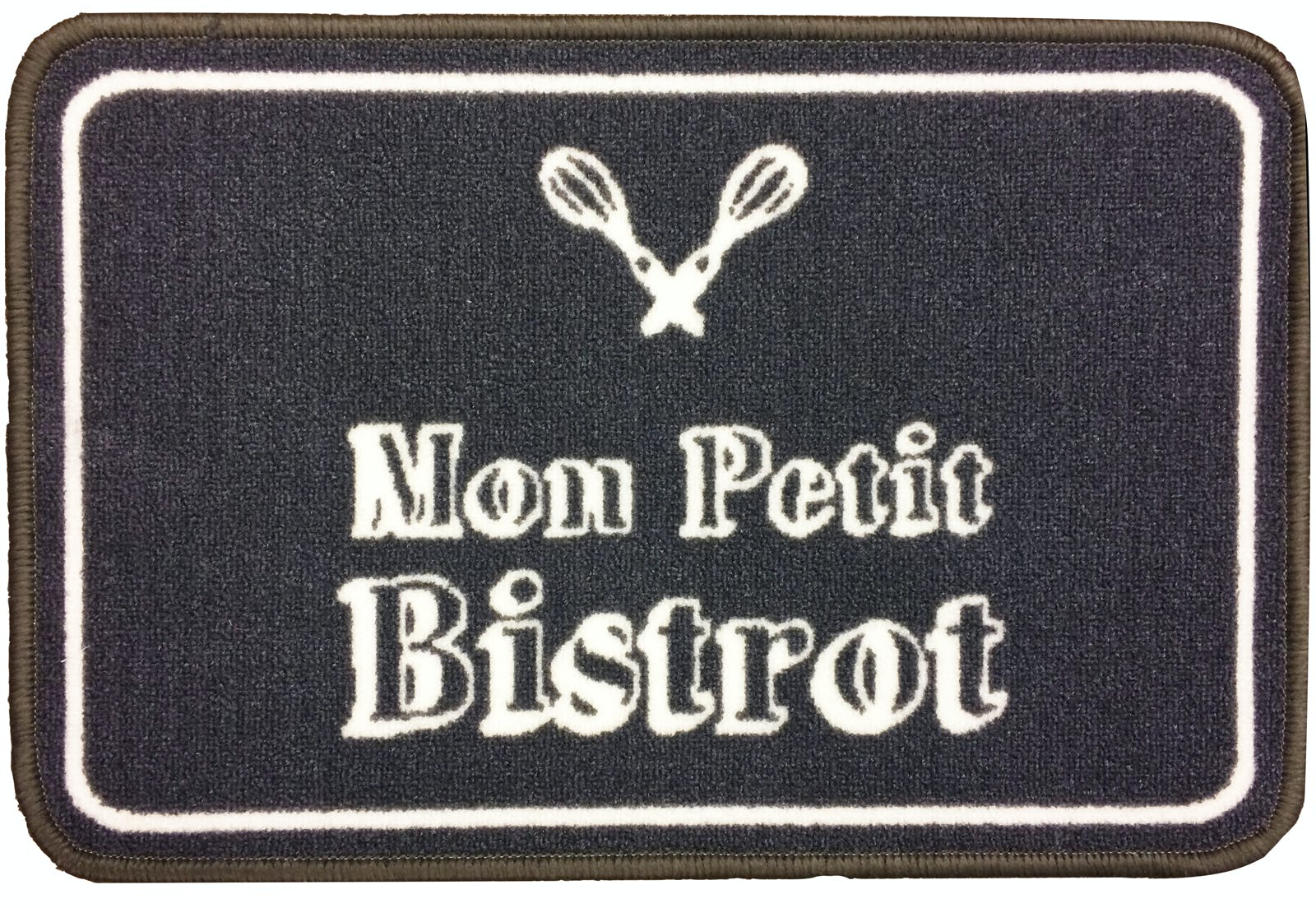 "Tapis de cuisine ""Mon petit bistro"" 50x80cm"