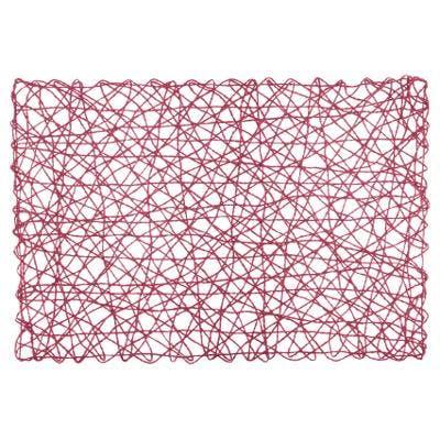 Set de table Natural rouge 45x30cm