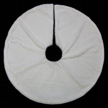 Tapis de sapin blanc D90cm
