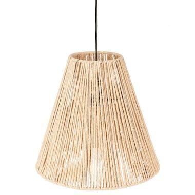 Luminaire suspension corde beige réf. 30022319
