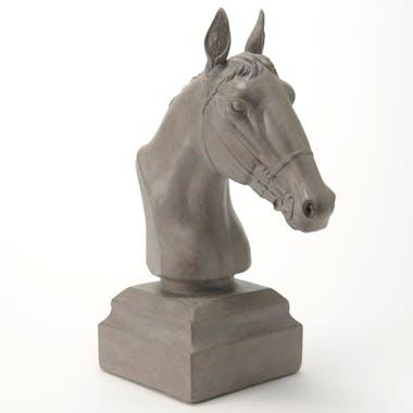 Buste tête de cheval en résine