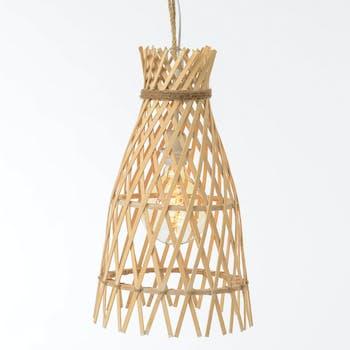 Suspension en bambou D28cm