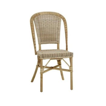 Lot de 2 Chaises rotin naturel Albertine KOK