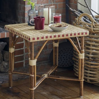 Table basse rotin tressé ref. 30020926