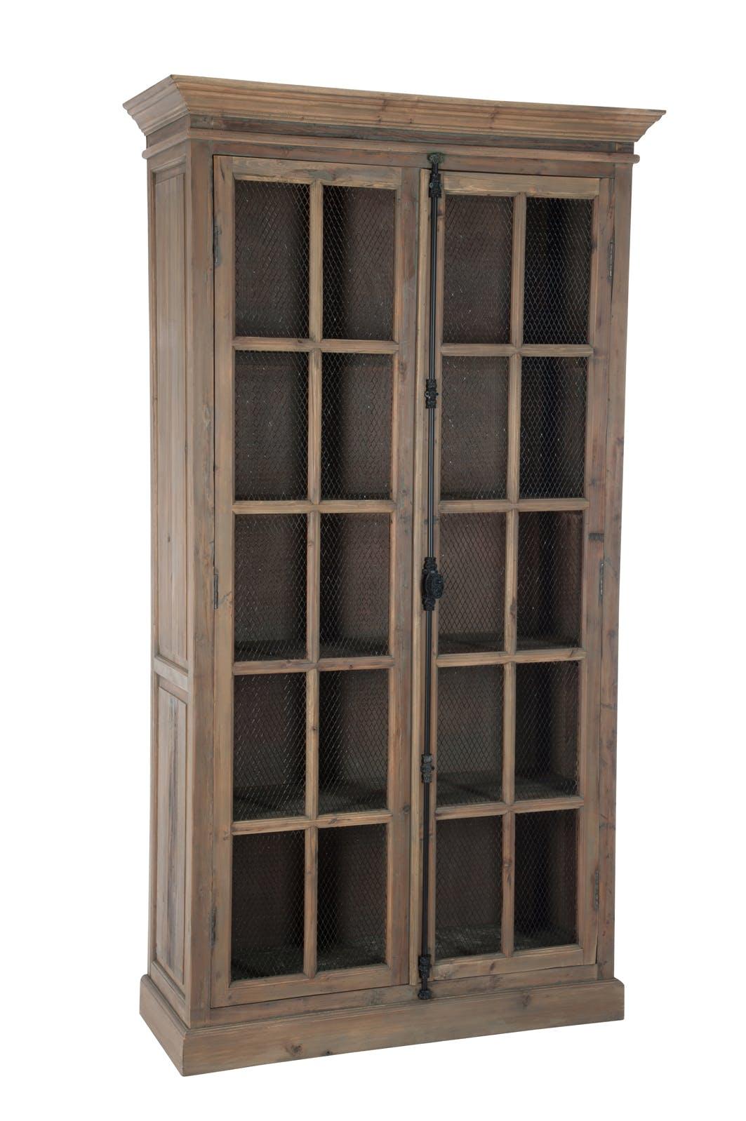 Vaisselier 5 niveaux bois naturel 110x45x195cm FOREST
