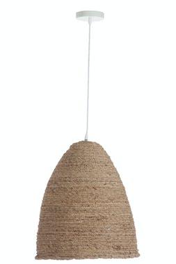 Plafonnier en corde chanvre naturelle D43 H52cm