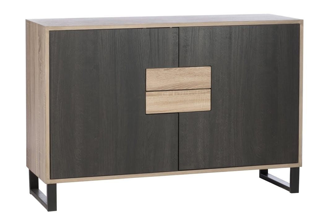 Buffet contemporain bois métal