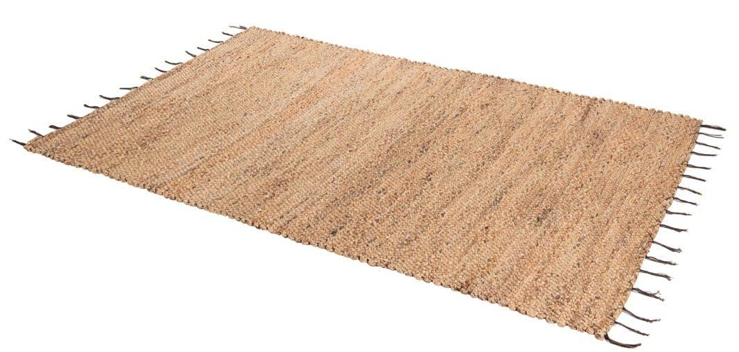 Tapis tressé jacinthe d'eau rectangle réf. 30021978