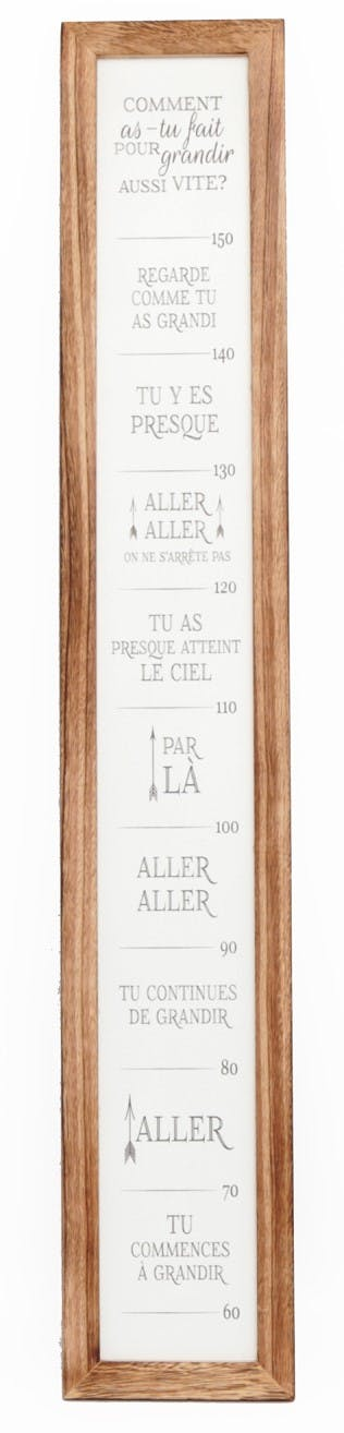 Toile citations 115 cm