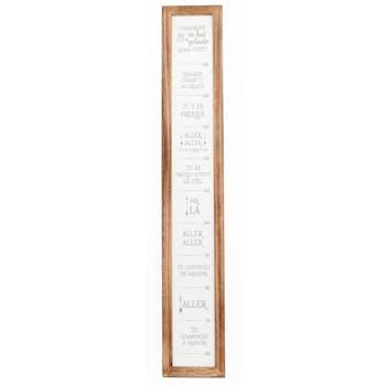 Toile citations 115 cm