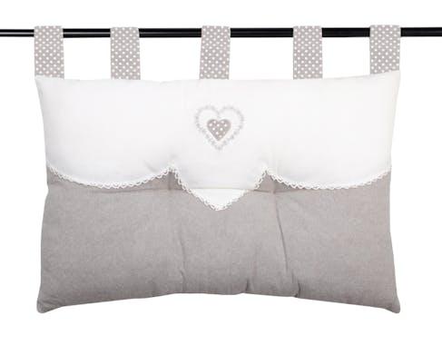 Coussin tête de lit Verone 45x70cm coton