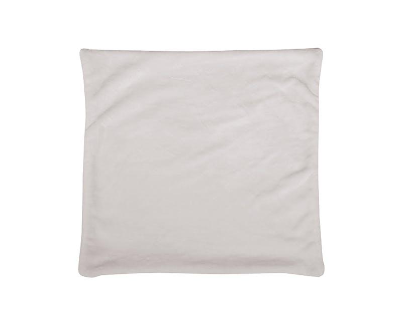Housse de coussin couleur lin touché doux 60x60cm DOUDOU