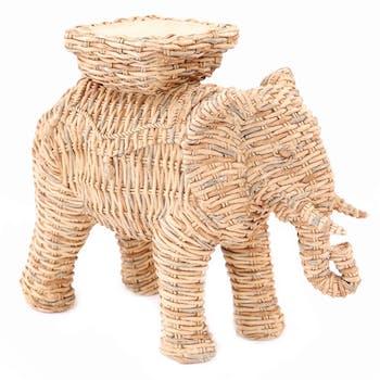 Bougeoir éléphant 26 cm