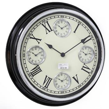Horloge murale multiple D 51 cm