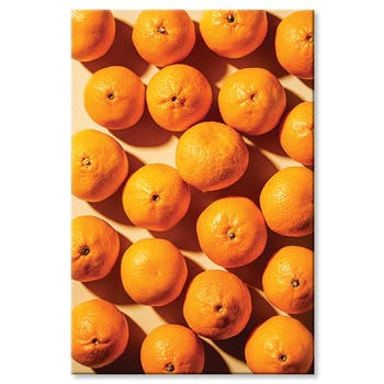 Tableau photo plexiglas oranges
