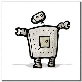 Tableau enfant robot