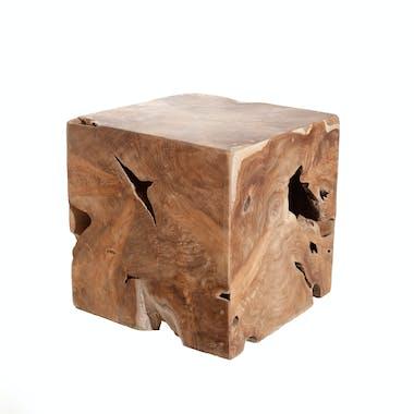 Cube en bois de teck POLO
