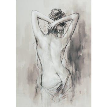 Tableau de femme nue de dos