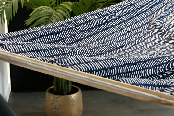 Hamac bleu foncé 200cm