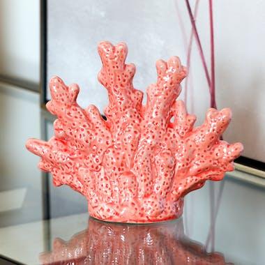 Corail de décoration en porcelaine