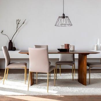Table à manger bois de manguier 180 cm FENI